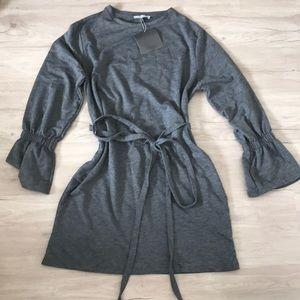 Zara trafaluc belted shirt dress (S)